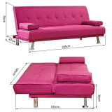 Sofá cama de tela Sofá clásico antiguo para sala de estar