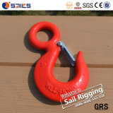 S320 Drop Forged Alloy Steel Lift Eye Hook avec Latch