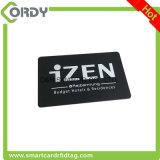 Cartão feito sob encomenda do PVC da freqüência ultraelevada RFID do estrangeiro H3 da impressão ISO18000 6C