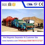 Separador magnético permanente do rolo para o minério de ferro pelo método molhado