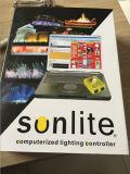 Logiciel de Sunlite d'éclairage de contrôleur du DJ de surface adjacente d'USB DMX