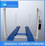 Levage hydraulique simple de stationnement de véhicule de poste deux avec du CE