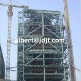 다중 층은 빨리 설치한다 강철 구조물 구조물 디자인을 주문을 받아서 만들었다
