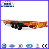 45FT skelettartiger Behälter-Transport-halb Schlussteil, Behälter-Chassis-LKW-Schlussteil mit kleinem Gooseneck