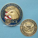 승진 기념품을%s 주문을 받아서 만들어진 3D 금속 동전 선물