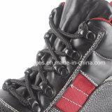 Sapatas de segurança de couro básicas com certificado RS6110 do Ce