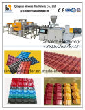 PVC ASA Glazed Roofing Sheet Production Machine / Hard Plastic Roofing Sheet Extrusion de toit de coextrusion Extrusion de toit