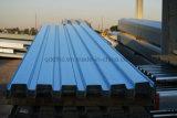 Hoja de acero acanalada del material para techos
