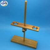 Stand en bois d'entonnoir pour le laboratoire