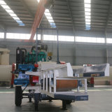 Máquina trituradora de madera del registro Chipping