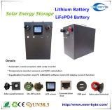 pouvoir de recul de grille d'alimentation de stockage de l'énergie de batterie au lithium 48V100ah