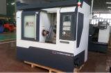 Máquina horizontal del torno del CNC del metal de la alta precisión del motor servo Ck50