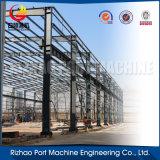 Struttura di tetto prefabbricata di disegno della tettoia della struttura d'acciaio di alta qualità