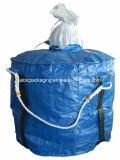 Голубой мешок ткани FIBC большой