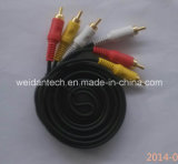 3RCA Component RGB Cable voor HDTV DVD VIDEO 50ft (WD14-004)