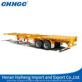 Aanhangwagen van de Container van de Assen Trailer/40ft 3 van China de Semi/Flatbed Aanhangwagen van de Container