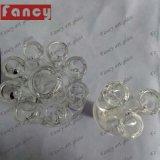 Giuntura di vetro di vetro del Banger 14/19mm della ciotola di vetro degli accessori di qualità per il tubo di acqua di fumo