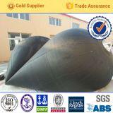 Cuscino ammortizzatore di gomma pneumatico marino per i generi di navi