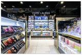 Crémaillère d'étalage cosmétique au détail de vente chaude, présentoirs acryliques cosmétiques en état neuf