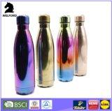 Thermos isolado vácuo da garrafa de água do frasco da parede do dobro do aço 1000ml inoxidável