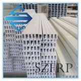 Perfiles de Pultruded de la fibra de vidrio, tubo cuadrado de FRP/GRP