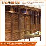 杭州Aisenの現代カスタマイズされた内部の木の機密保護のWindowsシャッター