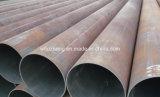 El tubo de acero API 5L X42 X52, LSAW de ERW soldó el tubo de acero negro