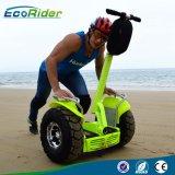 Ecorider weg von Selbstbalancierendem Roller der Straßen-4000W mit 1266wh doppelter Batterie Fahrwerk-72V