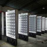 Cartelera LED Mupi de la publicidad al aire libre que enrolla el rectángulo ligero
