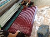 Lamiera sottile ondulata preverniciata di vendita calda del tetto del galvalume