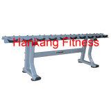Forme physique, matériel de gymnastique, crémaillère Matériel-Simple d'haltère de rangée de construction de corps (PT-951)