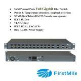 Switch de agregação com o Embedded EMS para P2p FTTX Sistema