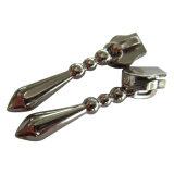 Glissière personnalisée de tirette en métal et de plastique d'Eco-Frendly d'alliage de Zink pour le vêtement et le bagage