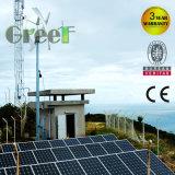 Sistema híbrido solar y de las energías eólicas para el uso del hogar y de la granja