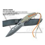 """10.5 """" إجماليّة [س]. فولاذ أطلس نصل خنجر مع مظلّة هبوط حبل"""