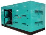 Ce/CIQ/Soncap/ISOの承認のパーキンズエンジン2806A-E18tag3を搭載する690kVA極度の無声ディーゼル発電機