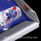 LED 2835SMDアクリルレーザーの点の広告媒体のバックライトを当てられた旗のBillbaordの屋内細いハングのライトボックス