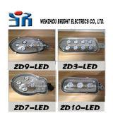 우선권 시골 LED 가로등 홀더 알루미늄 쉘