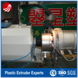 Machine en plastique d'extrusion de tube de pipe du HDPE MDPE de PE