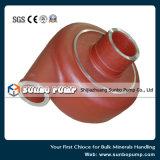 Части запасных частей насоса резиновый вкладыша OEM Китая/Носить-Корозии запасные