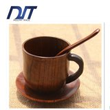 [هيغقوليتي] فنجان طبيعيّة خشبيّة مع مقبض