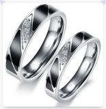 Anillo de la manera de la joyería del acero inoxidable de los complementos (SR726)