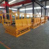 Plate-forme stationnaire électrique de levage de ciseaux de 2 tonnes