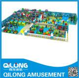 Спортивная площадка капризного замока серии типа моря крытая (QL-1208K)