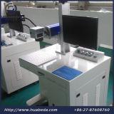 De draagbare MiniLaser die van de Vezel Machine, de Laser merken die van de Vezel van de Desktop Machine met Ce merken