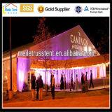 Die große im Freien Luxuxaluminiumdekoration, die grosse Ereignis-Strand-Partei Belüftung-Luft Wedding ist, klimatisierte 500 Seater das Festzelt-Zelt