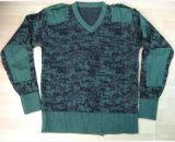 군과 육군 전투 Camo 스웨터