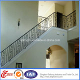 Consice Safety Durable Residential Wrought Iron Handrails