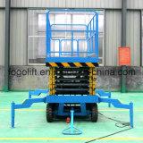 Elevador móvel hidráulico trabalho aéreo