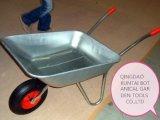 O Sell quente galvaniza um Wheelbarrow mais barato da bandeja (WB5204)